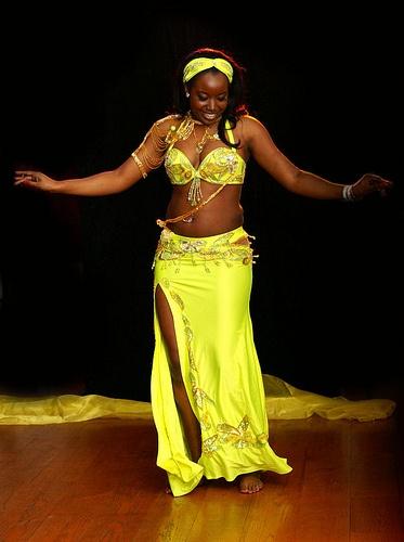 black woman dance nakef