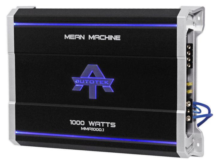 17 best ideas about car audio amplifier audio autotek mma1000 1 1000 watt 2 ohm mono car audio amplifier amp bass remote