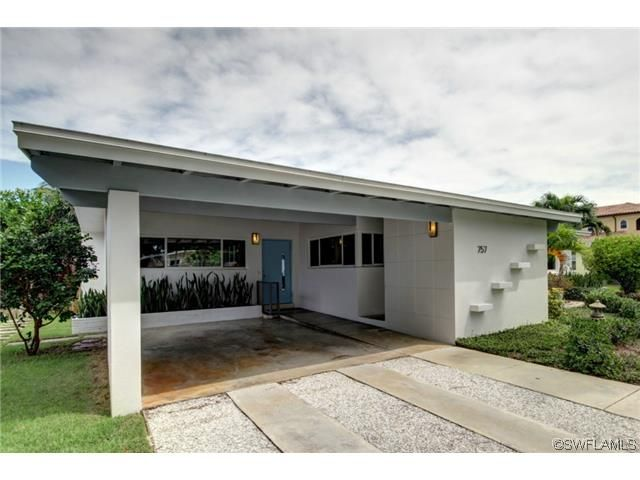 Mid Century Modern Home In Olde Naples Atomic Ranch