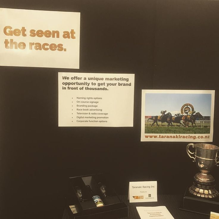 Get seen at the races with race sponsorship
