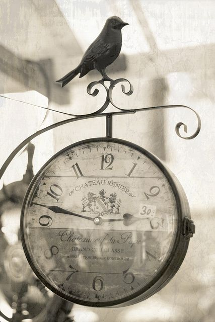 ≗ Feathered Nest of Hope ≗ bird feather & nest art jewelry & decor - bird clock