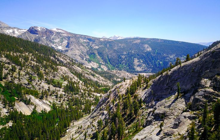 Sierra Nevada Mountains , John Muir Trail