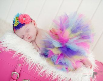 I'M ONE Birthday Tutu First Birthday Tutu Colorful Tutu