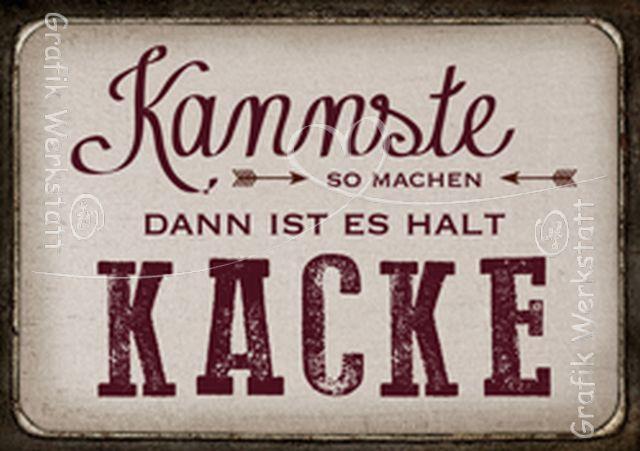 Kannste so machen - Postkarten - Grafik Werkstatt Bielefeld