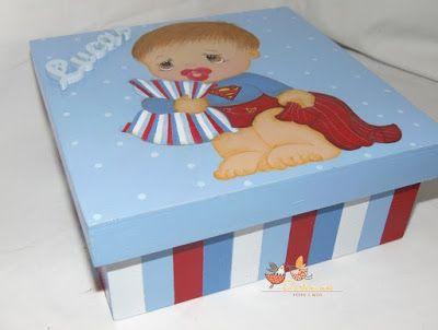Dartemimos: Caixa de recordações para um super bebé!