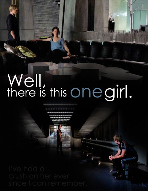 Well, there is this one girl.: Games 3, Girl, Catching Fire, Hunger Games Catching, Quote, Mockingjay, Book, Hungergames, Games Trilogy