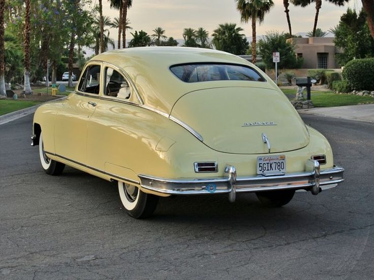 Maumee Maize: Restored 1949 Packard Deluxe Eight
