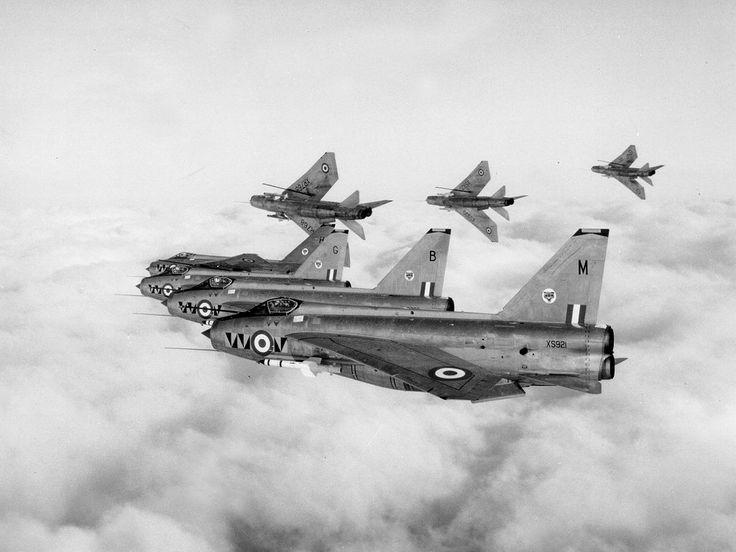 74 Squadron Lightnings