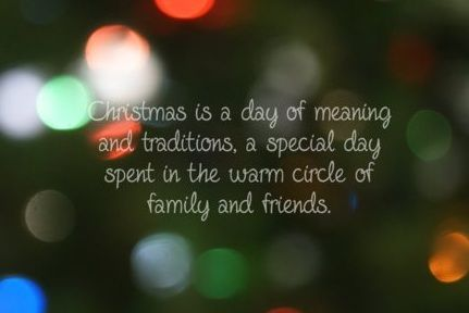 Comment some of your favorite traditions.