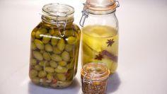 Mounirs Arabische Basics - ingelegde citroen, gemarineerde olijven en harissa