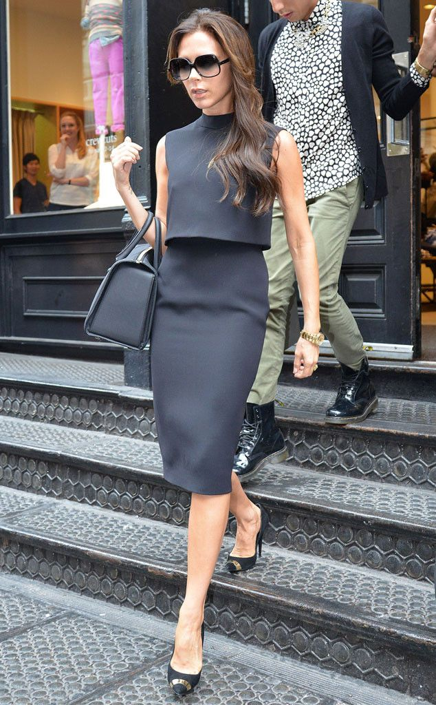 Victoria Beckham ~ Victoria is absolutely amazing. Good taste in clothes, shoes, and men.