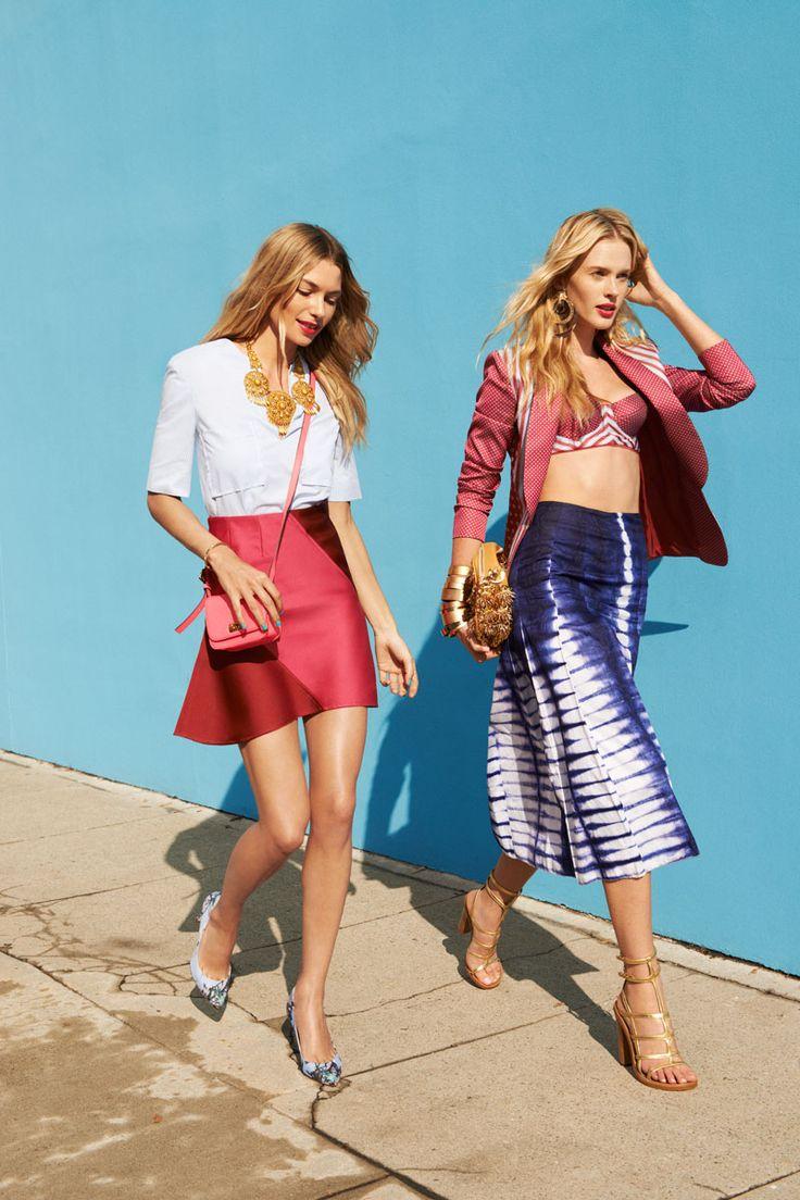 Tommy Ton Street Style Fashion Editorial - #HarpersBAZAAR #SpringStyle