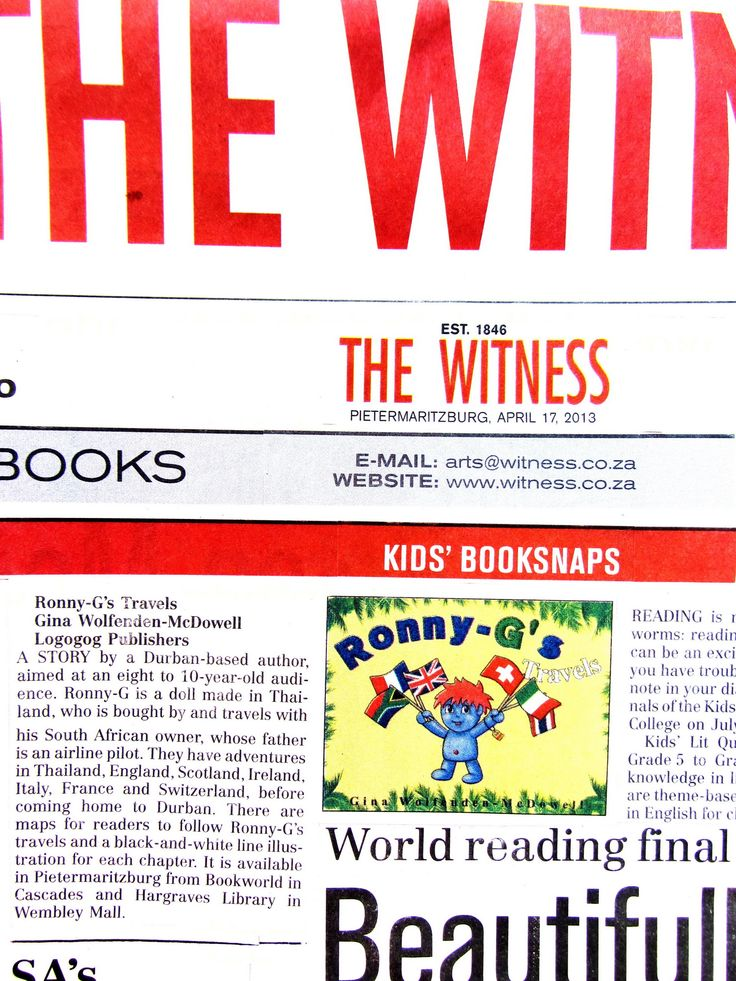 The Witness ~ 17 April 2013