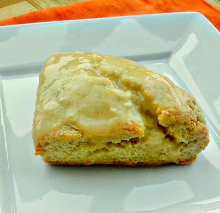 Copycat Panera Orange Scones. A dense and zesty scone that tastes exactly like the Panera version!