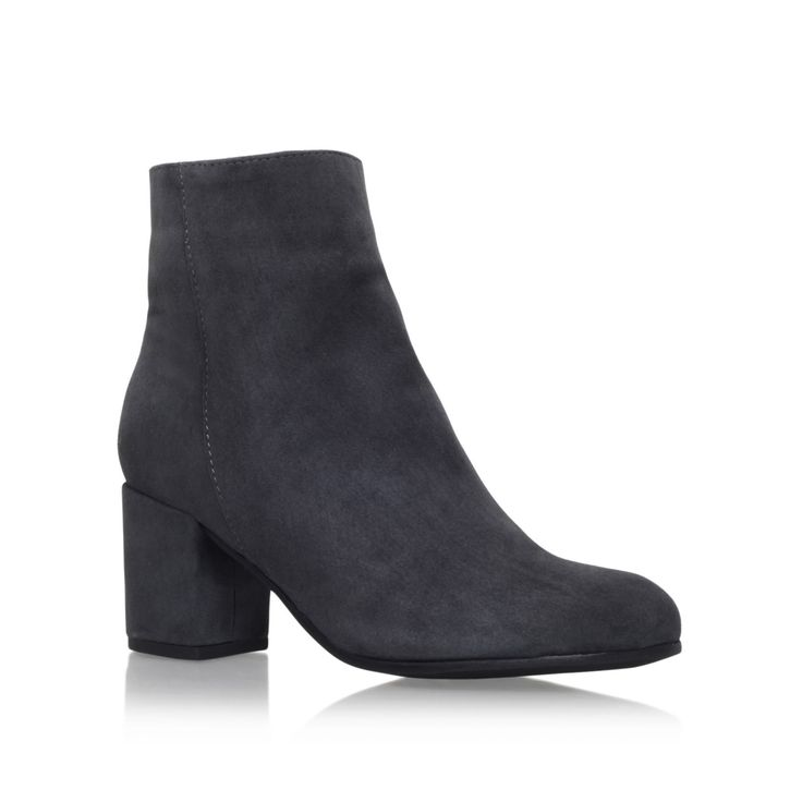 subtle grey mid heel ankle boots from Carvela Kurt Geiger