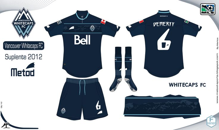 Metod Sports: Vancouver Whitecaps FC 2012 Metod