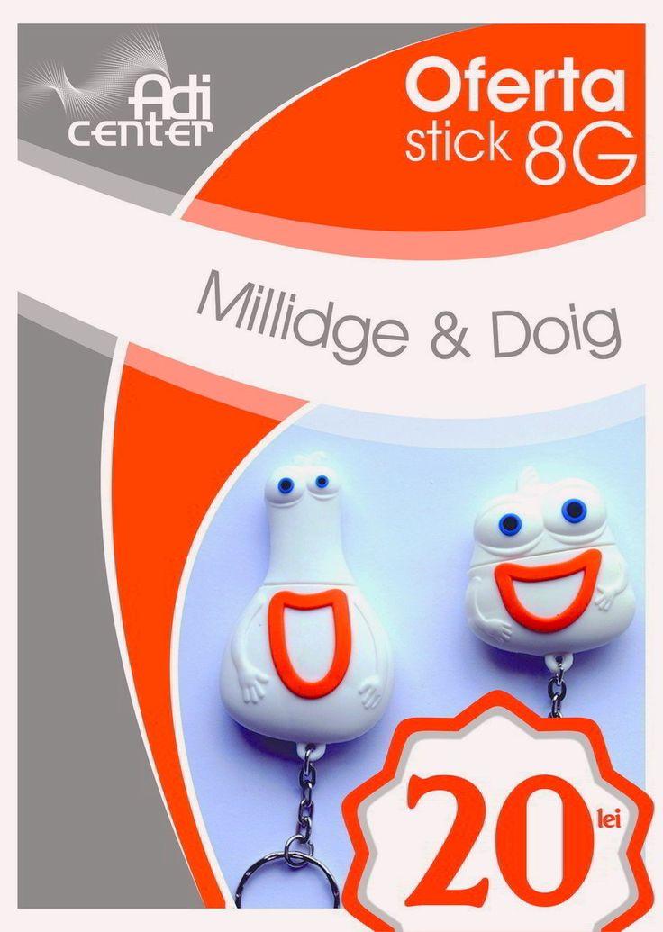 http://www.adicenter.eu/adicenter-oferte-speciale-print/orange-romania-usb-8gb-millidge-doig-memorie-usb-8gb-millidge-doig/ - Memorii USB 8GB Millidge si Doig de la Orange Romania – Promotie! 20 lei/bucata TVA inclus. Memoriile USB Millidge si Doig de la Orange Romania au capacitatea de 8GB, sunt realizate din material PVC flexibil si contin ca accesoriu un breloc metalic. Comanda Acum. Livrari in toate orasele.