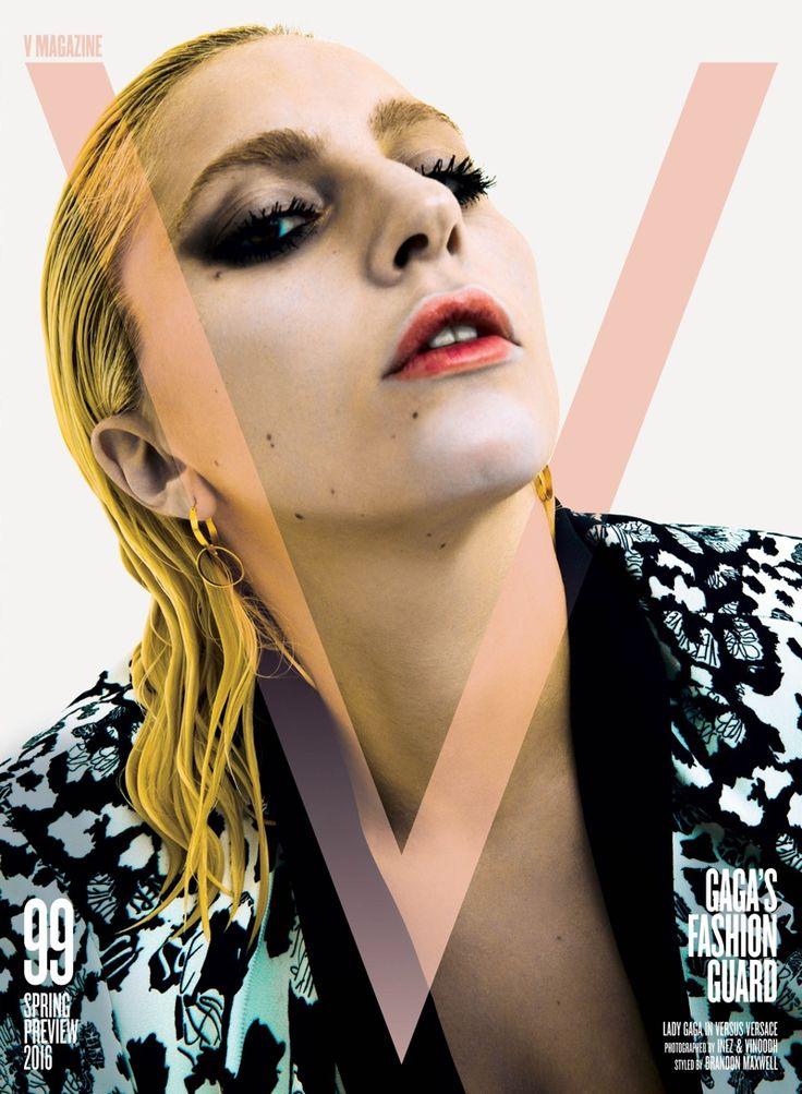 Lady Gaga on V Magazine #99 Cover. Photo: Photo: Inez & Vinoodh