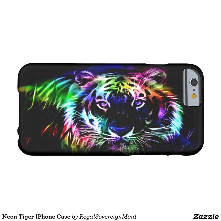 Neon Tiger IPhone Case Barely There iPhone 6 Case
