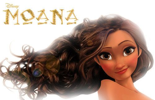 This is the newest disney princess. Her name is Moana and her movie is coming out in 2018! CAN'T WAIT!