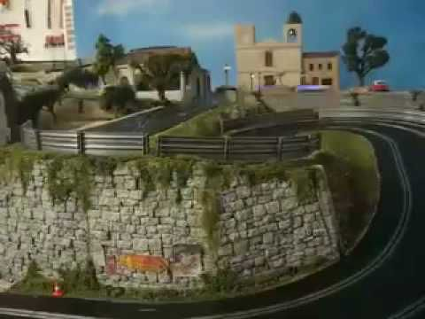 Slot Car Chase at the Targa Florio (Scalextric Digital) - YouTube