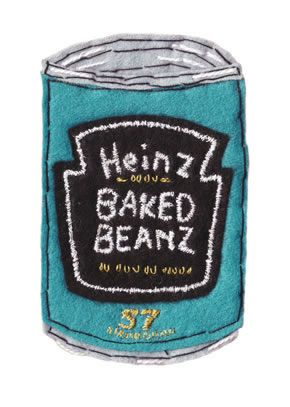 embroidery Heinz Baked Beans