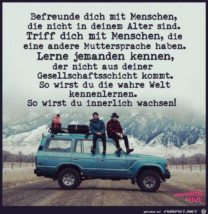 So lerne zu leben! :))
