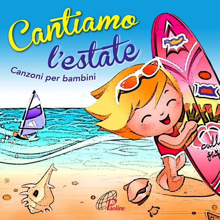 CANTIAMO L'ESTATE (Paoline Digital 2014) Canzoni per bambini - Artisti Vari. Una compilation di canti digitali (completi di basi musicali) per vivere l'estate a suon di musica. Otto canzoni per bambini ritmate, vivaci e coinvolgenti da ascoltare in riva al mare e ...non solo!!! PER ACQUISTARLO: https://itunes.apple.com/it/album/cantiamo-lestate-canzoni-per/id889634526