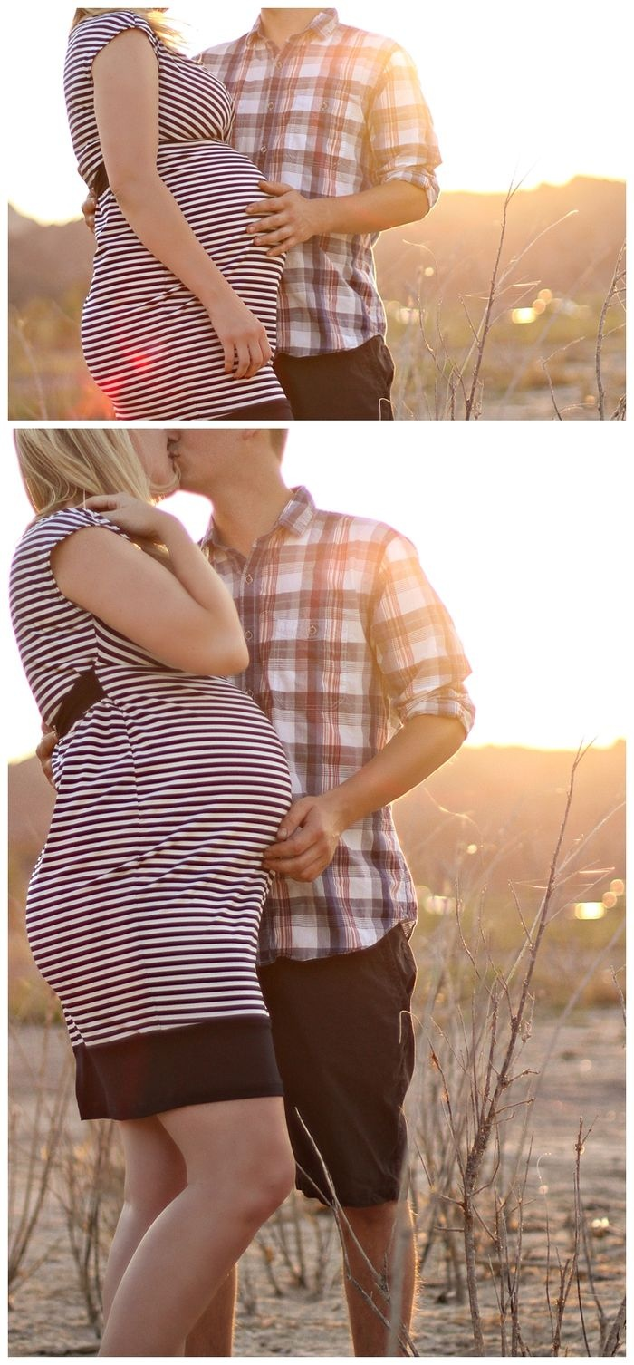 Lake Mead Maternity photos