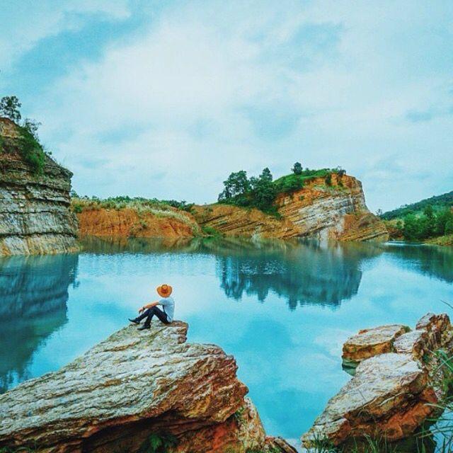 Danau Biru Pengaron, Kalimantan Selatan