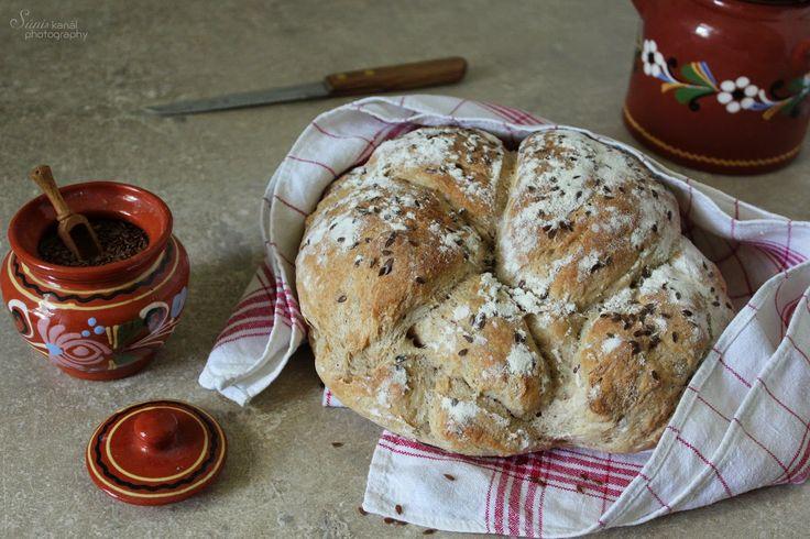 Sünis kanál: Ropogós héjú krumplis kenyér