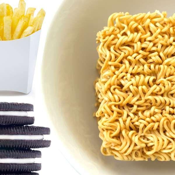 Batata frita, pipoca, miojo: veja 'bombas' de gordura trans