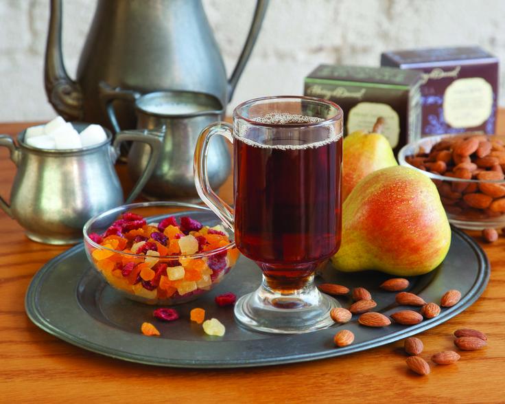 Tea, Fruit, Nuts