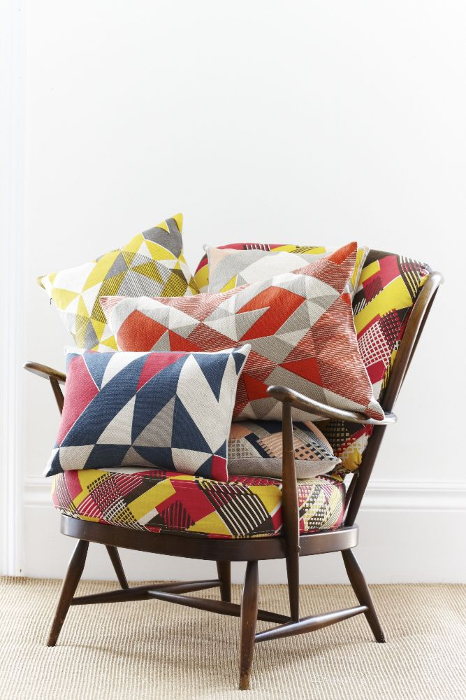 Tamasyn Gambell | Simple Geometry | Cushions | www.tamasyngambell.com