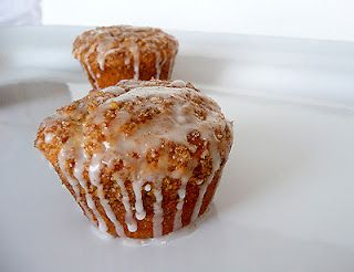 Coffeecake muffins.  On link, scroll down for recipe link.