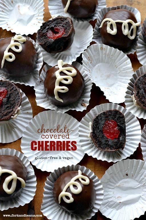 Veganer Mit Schokolade Uberzogene Kirschen Schoko Kirsch Kuchen Schokoladenuberzug Und Schokoladenkuchen Rezept