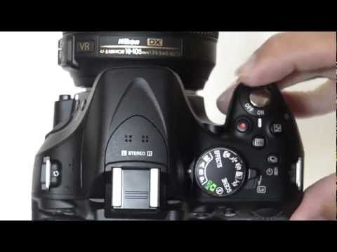 Nikon D5200 Complete user guide - YouTube