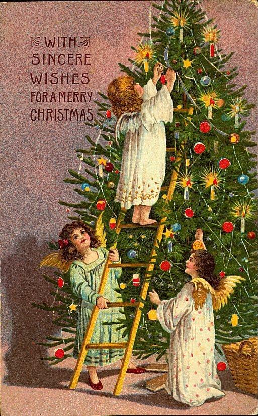 19th Century Christmas Card