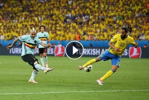 Football Highlights from UEFA Euro 2016 Group E match: Sweden vs Belgium Match result: Sweden 0 - 1 Belgium Played on: June 22, 2016 Venue:Allianz Riv...