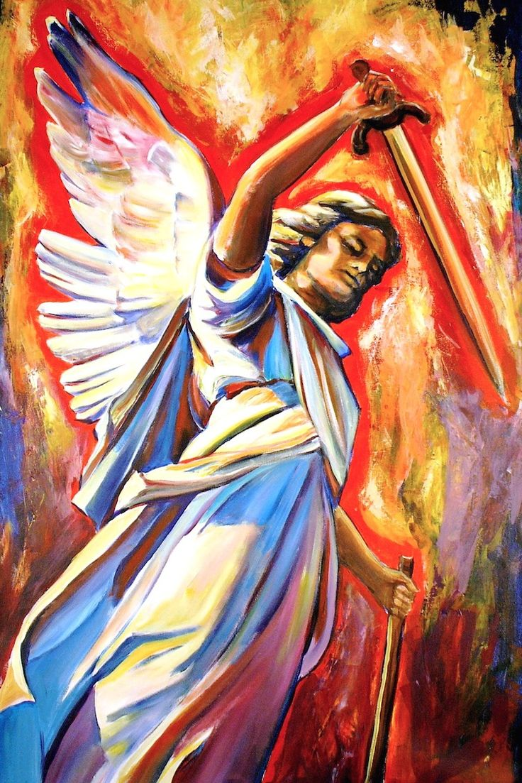 Archangels names and meanings catholic - The Stunningly Beautiful Modern Catholic Art Of Sheila Diemert