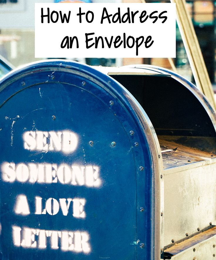 How to Address an Envelope   Genuinely Erin - Do you know how to address an envelope? This is a vital skill to have. Here's my step by step guide to addressing an envelope!