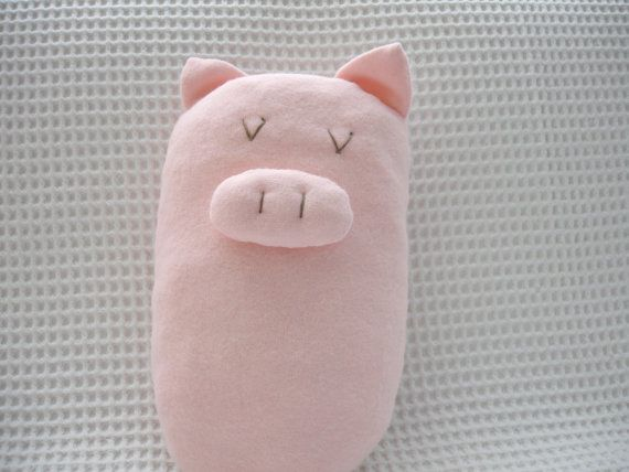 Pink Piggy by Hipolita on Etsy