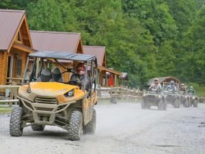 One of the best things about the Hatfield-McCoy system is they make your adventure easy. Expect friendly towns and places to stay with full trail access right from your camp or cabin. Try the Cowshed Motel, or Ashland ATV Resort