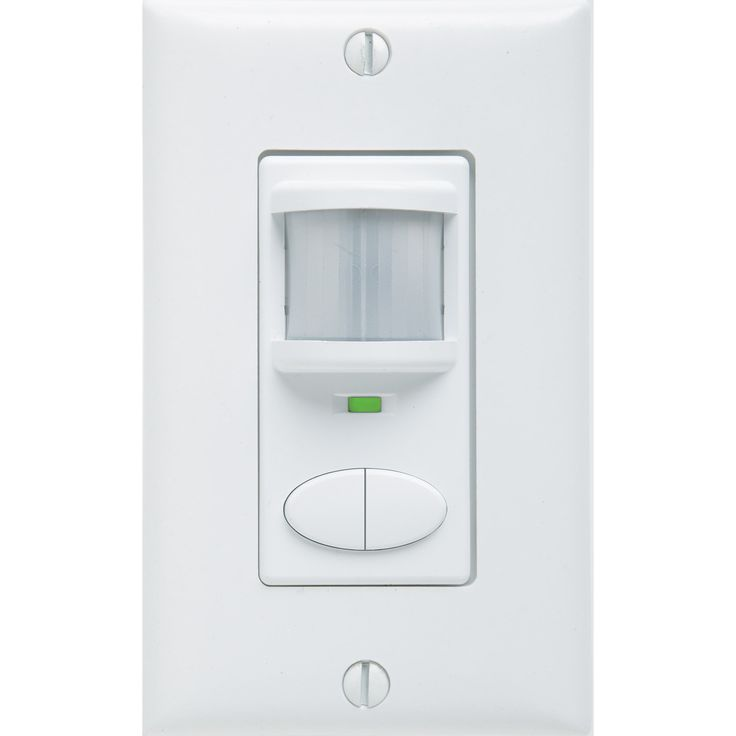 Lithonia Lighting Sensor Switch WSD 2P WH , 2-Pole White Passive Infrared Sensor (PIR - 2 pole - White)