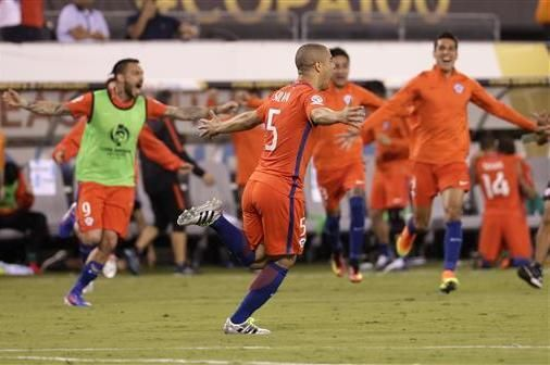 Lionel Messi's national team misery continues. The five-time Ballon d'Or winner was one of two Argentina players to miss in the penalty shootout as Chile successfully defended its Copa America title.