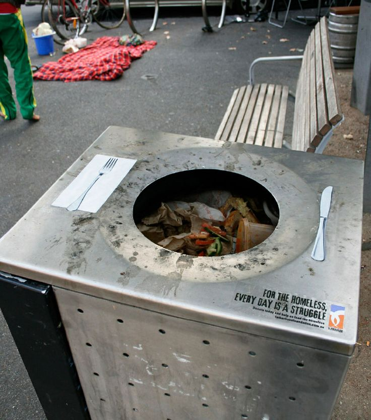Impactful public service ads. Homeless awareness