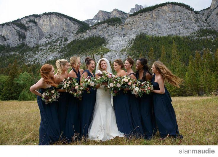 Banff Springs Fall Wedding