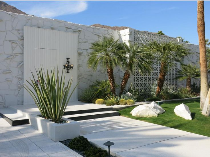 17 best images about mid century modern on pinterest for Palm springs landscape design