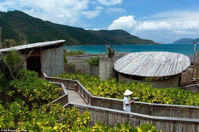 Với các khu vườn nhiệt đới bao quanh, spa của Six Senses Côn Đảo cung cấp cho du khách các chương trình yoga và chăm sóc sức khỏe. Khu nghỉ dưỡng có một số khu cho bò biển ăn. Đây là loài vật đang nằm trong sách đỏ.
