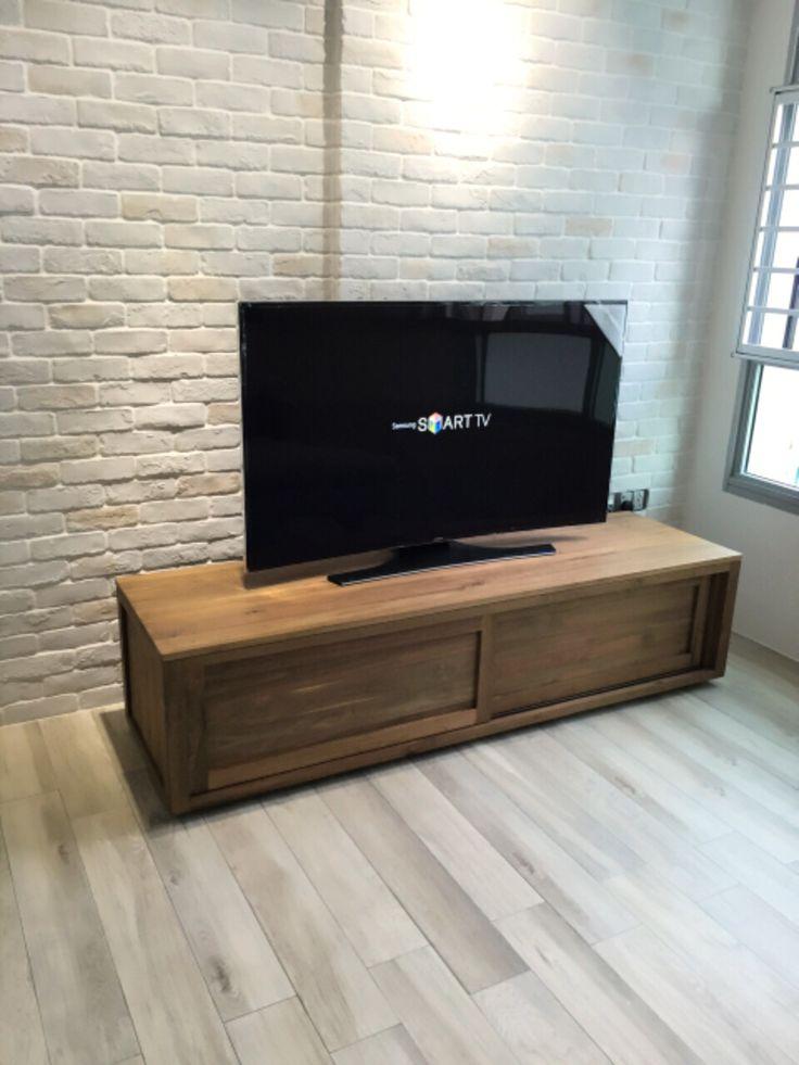 Teak TV console ethnicraft hdb | Our minimalist ...